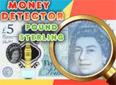 Игра Детектор денег:Фунт стерлинг