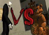 Игра Слендермен против Фредди