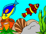Игра Подводный мир рыбок 5