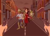 Игра Огонь против зомби