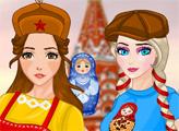 Игра Принцессы в стиле русских хулиганов