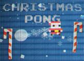 Игра Рождественский понг