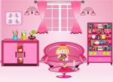 Игра Мини побег - розовый зал