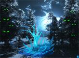 Игра Побег из лунного леса