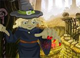 Игра Побег из леса ведьмы в Хэллоуин