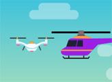 Игра Доставка дроном