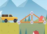 Игра Конструктор мостов