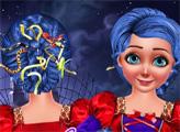 Игра Леди Баг и прически для хэллоуина