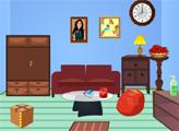 Игра Мини побег - гостиная