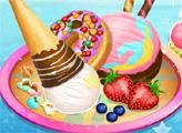 Игра Мороженое и пончики