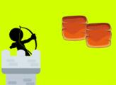 Игра Стикмен: оборона замка