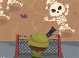 Игра Защита от скелетов