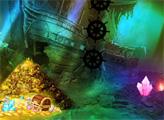 Игра Побег из пещеры с сокровищами пиратов