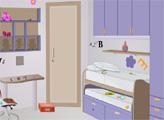 Игра Фиолетовая комната девушки