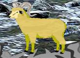 Игра Побег овцы от гиены