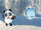 Игра Снежный мир панды