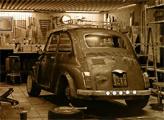 Игра Побег из старого большого гаража