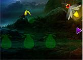 Игра Побег из волшебного леса светлячков