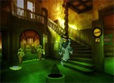 Игра Побег из особняка монстров в Хэллоуин