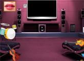 Игра Побег из комнаты девушки-рокзвезды