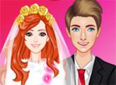 Игра Зимний свадебный макияж