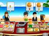 Игра Ресторан на пляже