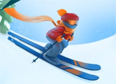 Игра Герой лыжни