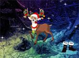 Игра Жуткий побег в Рождество
