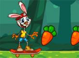 Игра Кролик-скейтер