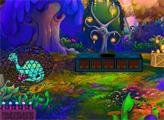 Игра Спасение из джунглей динозавров