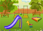 Игра Побег из милого детского парка