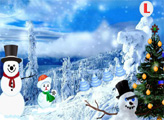 Игра Побег из леса в Рождество