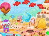 Игра Побег с конфетной земли