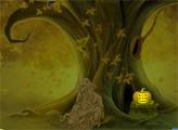 Игра Побег из жуткого тыквенного леса