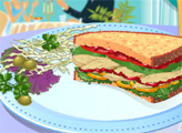 Игра Сэндвич с индейкой