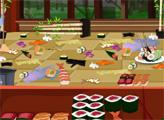 Игра Уборка в суши-кафе