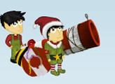 Игра Рождественская пушка