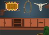 Игра Побег из дома ковбоя - День 3