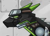 Игра Дино Робот - Ниндзя Велоцираптор