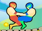 Игра Борьба в прыжке