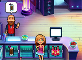 Игра Анжела работает барменом