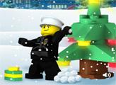 Игра Лего Сити: Защитить подарки