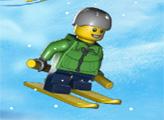 Игра Лего Сити: Охота на лыжников