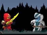 Игра Лего Ниндзяго: Лесные монстры