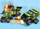 Игра Лего Сити: Вулканологи