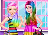 Игра Радужный образ принцессы