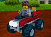 Игра Лего Сити: Лесная гонка