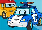 Игра Книжка-раскраска автомобильных роботов