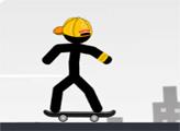 Игра Стикмен на скейте