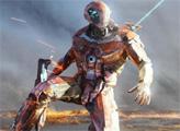 Игра Стальная война - летающий робот